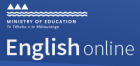 English Online logo.